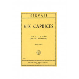 Six Caprices for cello solo