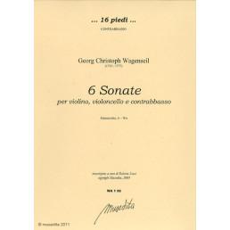 6 sonate per violino, violoncello e contrabasso