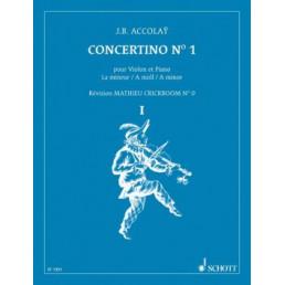 Concertino Nº 1 A menor