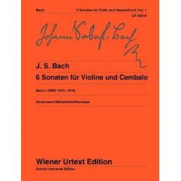 Sonatas Vol. 1 (1-3) Urtext BWV.1014-1016