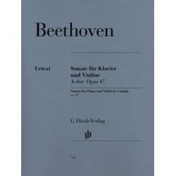 Sonata nº 9 KREUTZER Urtext Op.47