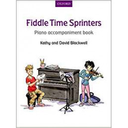 Fiddle Time Sprinters- Piano accompaniment