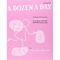 A Dozen a Day Mini Book Technical Exercises
