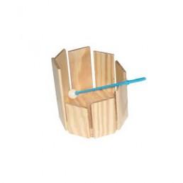 Octógono de percusión con macita bola de plástico