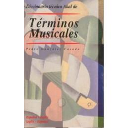 Diccionario Términos Musicales esp-ing