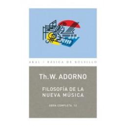 Filosofía de la nueva Música . Obra Completa 12