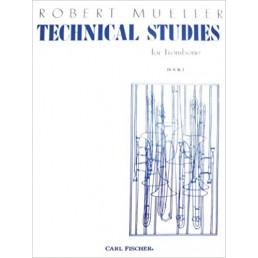 Technical Studies for Trombone Book 1