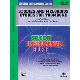 Studies and Melodious etudes for trombone V.1