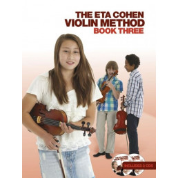 The Eta Cohen Violin Method Book 3+2 CDS