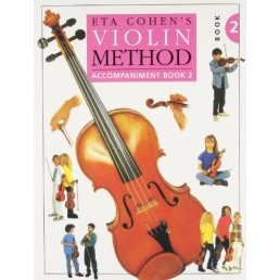 Method Violin Book 2 Piano Accompaniment