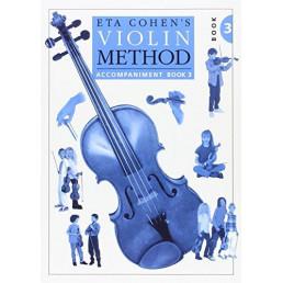Method Violin Book 3 Piano Accompaniment