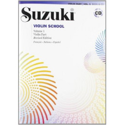 Escuela de violín V.1 + CD