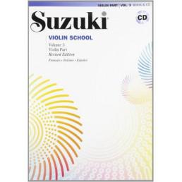 Violin School V.3 Book + CD Revised