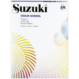 Violin School V.4 Libro + CD Revised