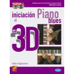 Iniciación al piano Blues en 3D (Libro+CD+DVD)