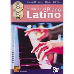 Iniciación al Piano Latino + CD + DVD