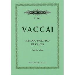 Método práctico de canto (Contralto y Bajo)