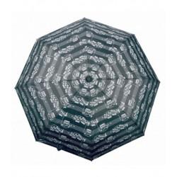 Paraigua pentagrama negre plegable A-gift
