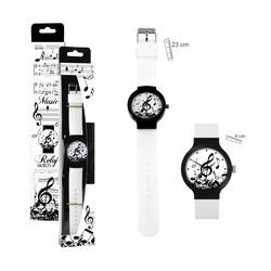 Rellotge polsera motius musicals