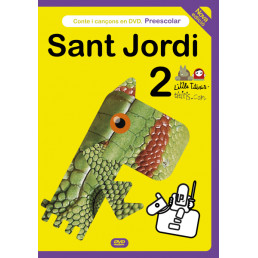 Sant Jordi conte DVD