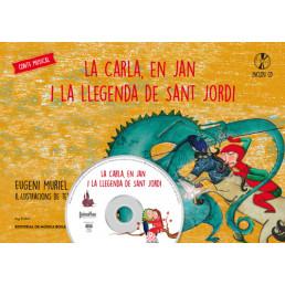 La Carla, en Jan i la llegenda de Sant Jordi + CD