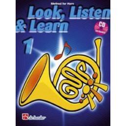 Escuchar, leer & tocar 1 Trompa + CD (Inglés)