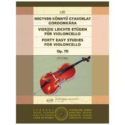 40 Easy Studies for violoncello Op. 70