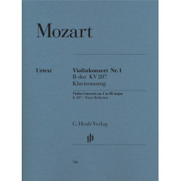 Violin Concerto n.1 in Bb major K.207 Urtext
