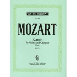 Concerto nº 7 Re M -Adelaide- KV271A