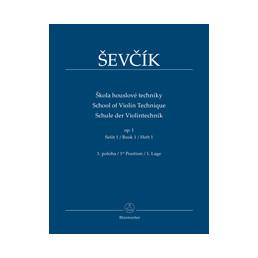 Sevcik. School for Violin. Op. 1 part 1
