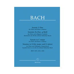 Sonatas (3) BWV 1033-1031-1020