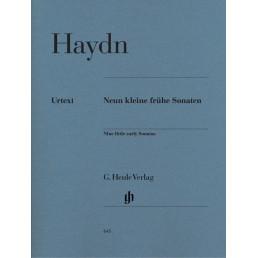 Nine little early Sonatas (9) Urtext
