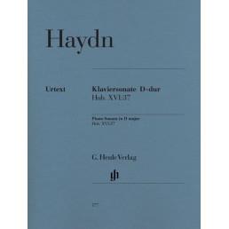 Piano Sonata en D major Hob. XVI:37