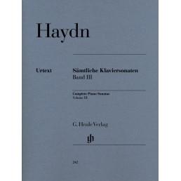 Complete Piano Sonatas Vol.3 Urtext