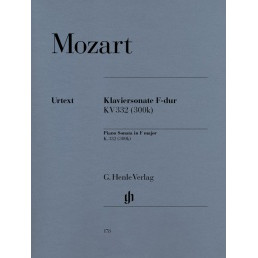 Piano Sonata in F major K.332