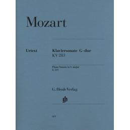 Piano Sonata in G major KV283 Urtext