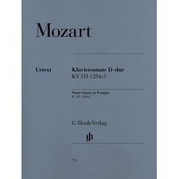Sonata Re M KV.311 (284C)