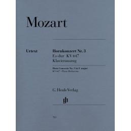 Horn Concerto N.3 in Mi Bemol /Red. piano
