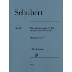 Arpeggione Sonata D821 Edition for Violoncello