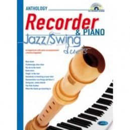 Anthology Recorder & Piano Jazz Swing Duets+CD