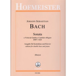 Sonata BWV 1028 for Double Bass and Piano