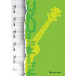 Bloc de música per a Ukelele