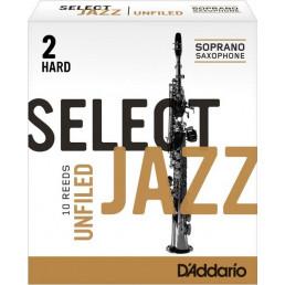 Canya Rico Select Jazz Saxo Soprano 2 DURA UNFILED