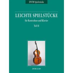 Leichte Spielstücke für Kontrabass und Klavier Teil II