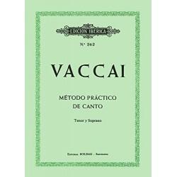 Método práctico de canto (Tenor y Soprano)
