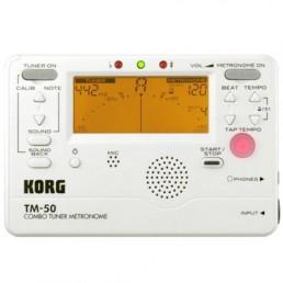 Metrònom / afinador Korg TM-50 Blanc