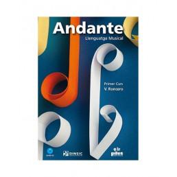 Andante. 1 Primer Curs + CD Nova Edició