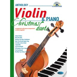 Anthology Christmas duets Violi piano