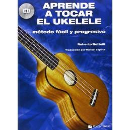 Aprender a tocar el ukelele + CD