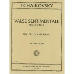 Valse Sentimentale Op. 51, No.6